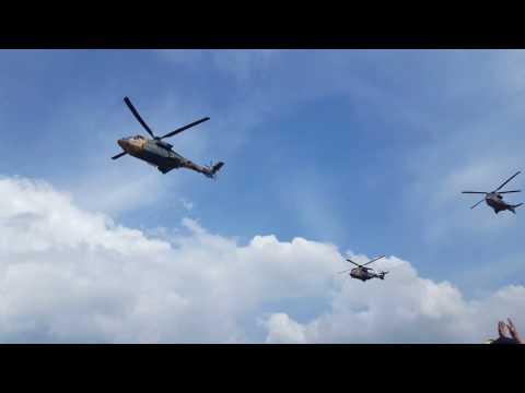 Türk Hava Kuvvetleri Helikopter Geçişi- İzmir
