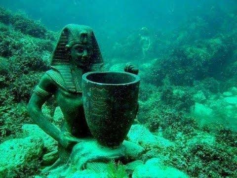 Раскопки подводного дворца