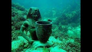 Раскопки подводного  дворца царицы Клеопатры