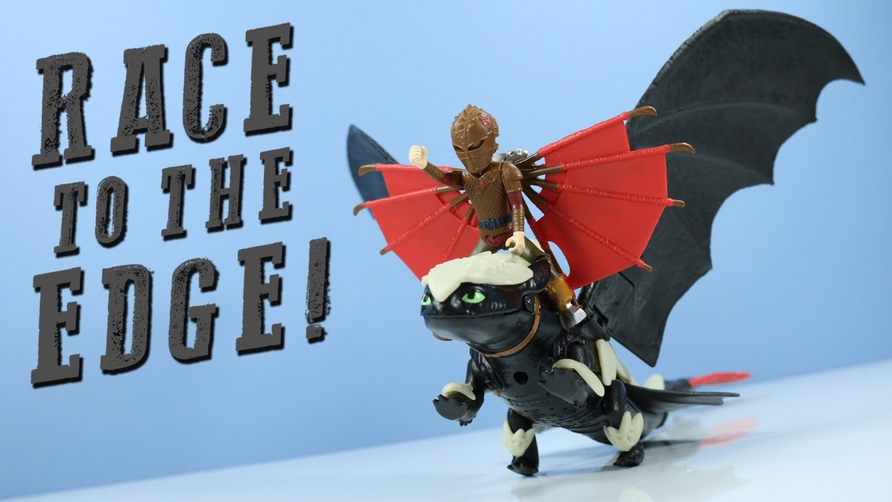 Dragons Race To The Edge Toothless & Hiccup Armored Spin Master