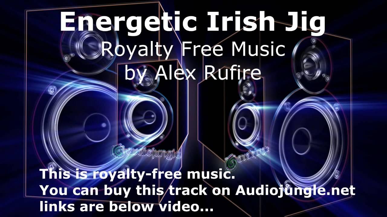 Energetic Irish Jig  Royalty Free Music