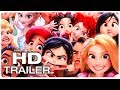 WRECK IT RALPH 2 Frozen, Merida, Disney Princesses & Baby Moana Funny Scenes - Best Scenes (2018)