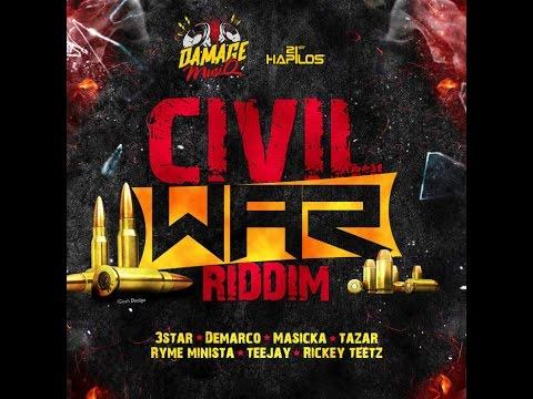 CIVIL WAR RIDDIM MIX FT. DEMARCO, RYME MINSTER, MASICKA & MORE {DJ SUPARIFIC}