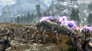 SKYRIM BATTLE #6 - 1000 Thalmor VS. 1000 Stormcloak