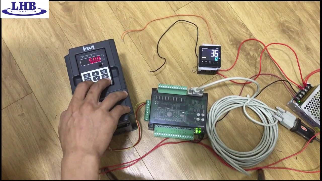 RS 485 – PLC Board Fx3U truyền thông với nhiều thiết bị – Part 2