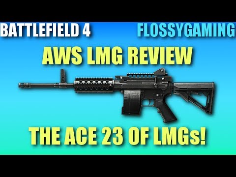 aws light machine gun