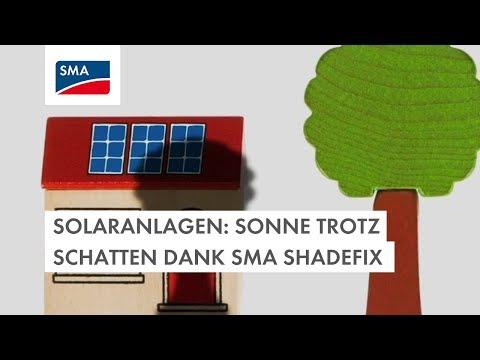 Solaranlagen: Sonne trotz Schatten dank SMA ShadeFix