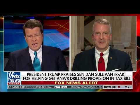 Senator Sullivan Speaks to Fox News' Neil Covuto on Opening ANWR to Responsible Resource Development