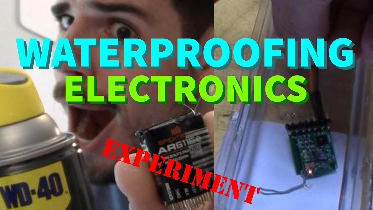 Waterproofing Electronics With Wd40 Silicone Spray Receiver Dunking Circuit Board Pcb Solder Resist Varnish Green Oil Test