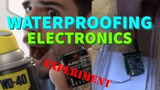 Waterproofing Electronics with WD40 Silicone Spray? Receiver Dunking Test thumbnail