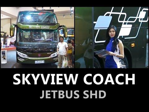 "JETBUS SHD ""SKYVIEW COACH"" | Scania K410ib Opticruise | By Adiputro | GIIAS 2016"