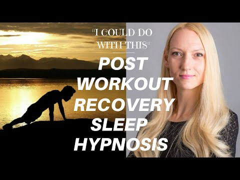 POST WORKOUT RECOVERY SLEEP HYPNOSIS Guided Hypnosis For Athletes (Sports Performance Hypnosis)