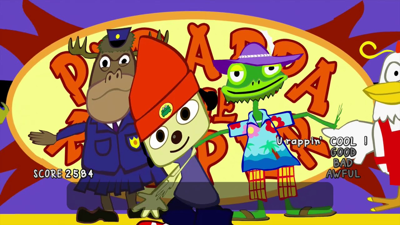 2567bcc625a PaRappa the Rapper Remastered  Stage 6 - I Gotta BELIEVE!! COOL Mode ...