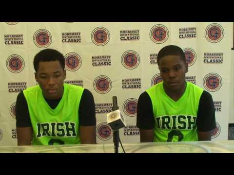St  Vincent DePaul Post Game Interview