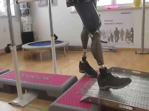 Oberschenkelamputiert doppelt Deutsch Männer