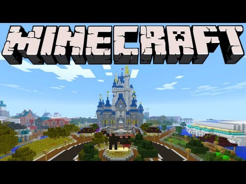 Minecraft - Walt Disney World - Magic Kingdom