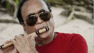 Meditation Flute : Raga Bhairavi Notes Played on BASE FLUTE By Dr.N.R.Kamath