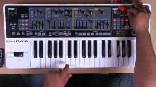 Roland Gaia SH-01 - Synth Lead