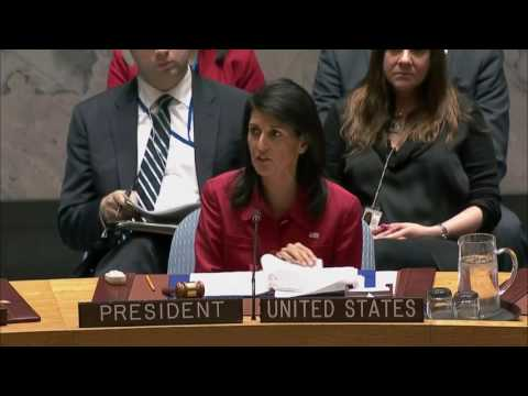 Ambassador Haley Remarks on Syria to the U.N. Security Council
