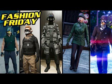 GTA Online: FASHION FRIDAY (Black Ops, The Rhino, Urban Soldier & More)