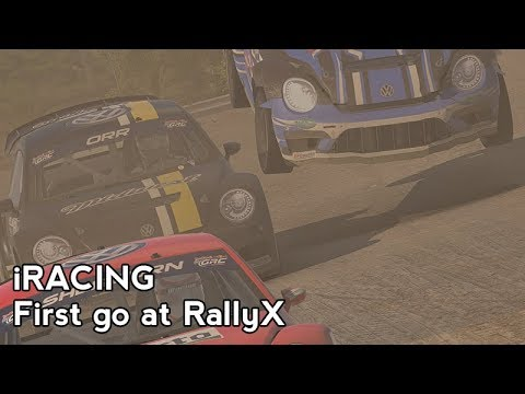 iRacing : First go at RallyX (GRC VW Beetle @ Daytona RX Long)