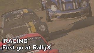 iRacing : First go at RallyX [VR] (GRC VW Beetle @ Daytona RX Long)