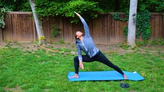 Hadiya Movement Systems | Virtual Movement Studio | Backyard Yoga Freestyle