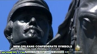 New Orleans Removing Four Confederate Monuments