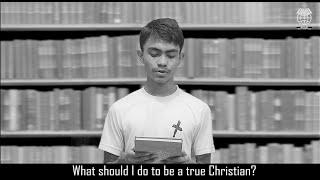 What should I do to be a true Christian? (Rohingya Language) Episode 18