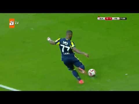 Beşiktaş: 0 - Fenerbahçe: 1 Dk: 71 | Gol: Robin Van Persie - atv