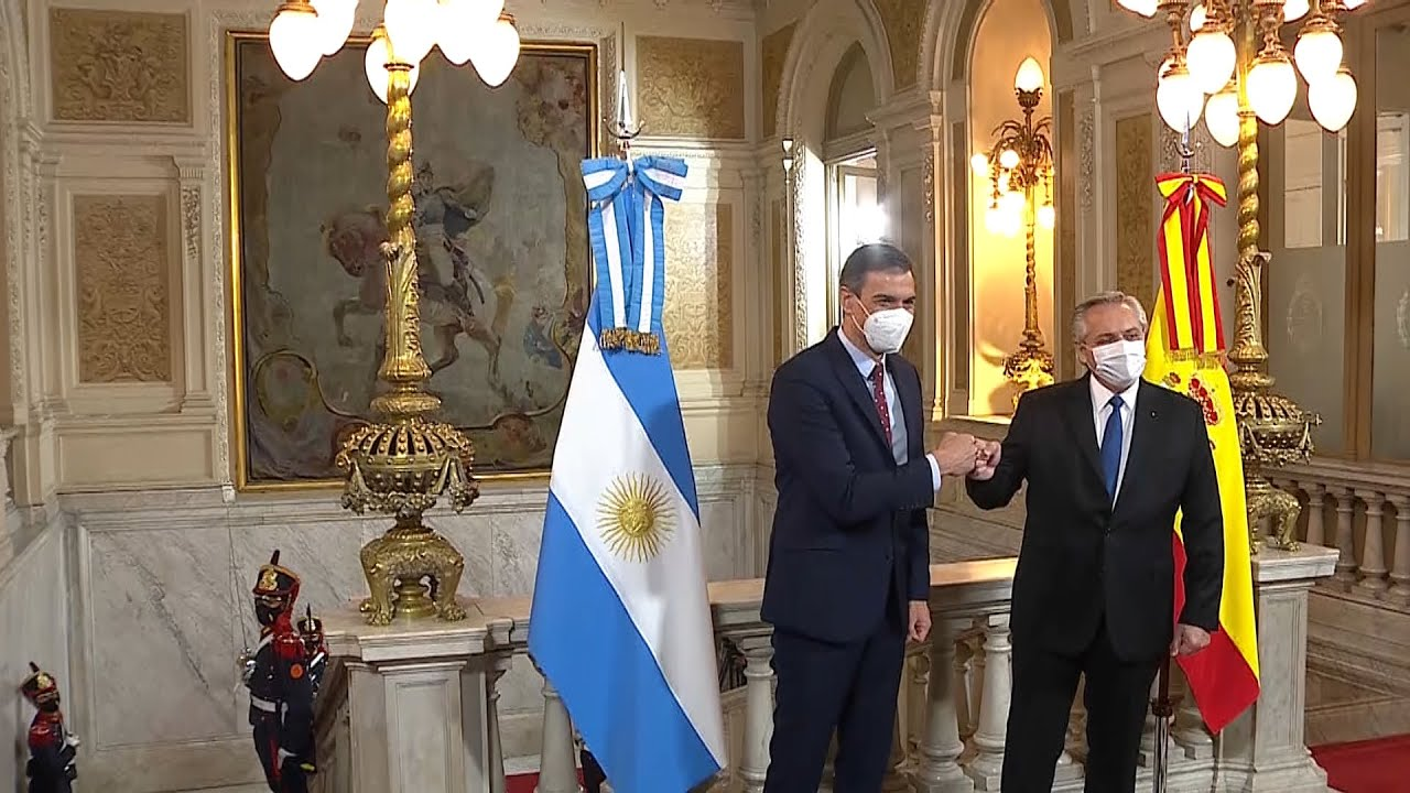 "Fernández aseguró que ""es un momento magnífico"" para que España invierta en Argentina"
