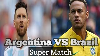 Argentina Vs Brazil Super Match All sport