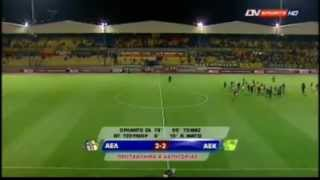 ael limassol 2 2 aek larnaca goals and highlights