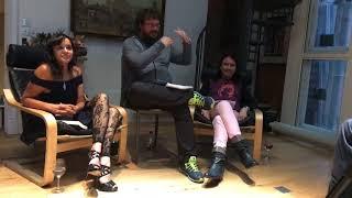 Q&A in Saint Pancras Clock Tower - Safeena Chaudhry, Dan Holloway & Rohan Quine