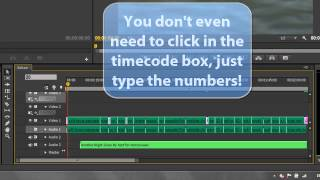 Premiere Pro Basics (CS6 & above): 13 Timecode & Playhead