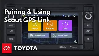 Toyota Entune l Scout GPS Link | Toyota
