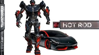 Transformers 5 The Last Knight Hot Rod Revealed