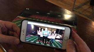 Olivet College Football Recruiting Brochure - Augmented Reality