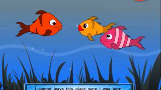 Gujarati Stories For Kids | Panchatantra Gujarati Stories 02 | Three Fishes | Lucky Fish