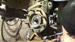 Front Wheel Hub Assembly Replacement On A Chevy 2500HD Part 1