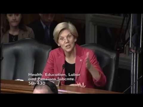 Senator Elizabeth Warren - Preventable Deaths: The Need to Improve Patient Safety