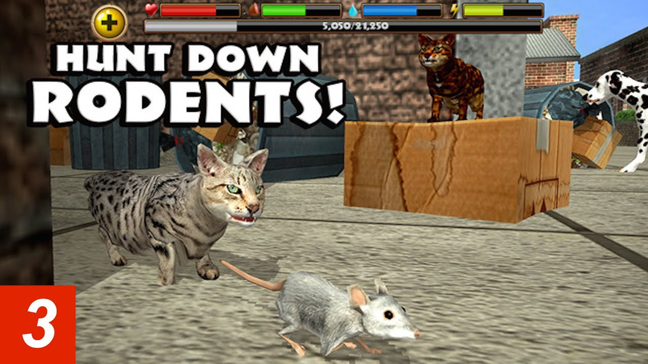 Sims  Cats And Dogs Mice