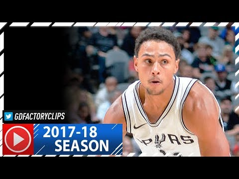 Bryn Forbes Full Highlights vs Hornets (2017.11.03) - 22 Pts off the Bench