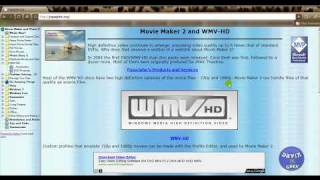 Windows Movie Maker Tips 101: part1 dealing with settings and how to install the High Def HD option.