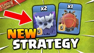 NEW for TH13! Yeti Blimp Attack Strategy (Clash of Clans)