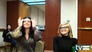 Casey Wilson and Eliza Coupe (Happy Endings Season 2) Interview - March 2012