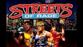 retro friday sega streets of rage classic gameplay