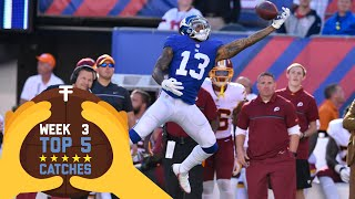 Top 5 Catches (Week 3) | 2016 NFL Highlights