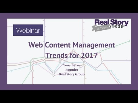 Web Content Management Trends for 2017