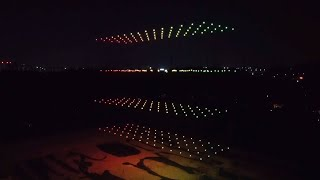 GLOBALink | 300 drones light up night sky to welcome Meng Wanzhou home